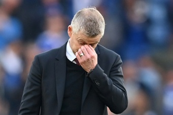 Man Utd would have to pay Solskjaer one year's salary if they decide to sack him. AFP