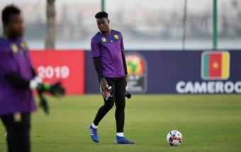O Barcelona quer o goleiro Onana. AFP