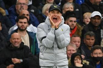 Tuchel se sent bien à Chelsea. AFP