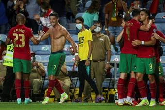 Compos probables : Qatar-Portugal. AFP