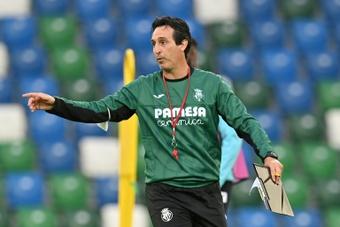 Unai Emery perdió en su tercera Supercopa de Europa. AFP