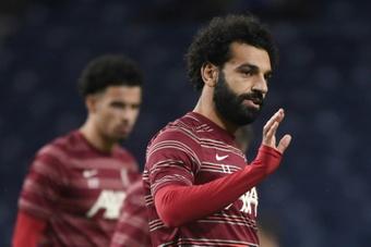 Salah réclame 23 millions par an pour prolonger. AFP