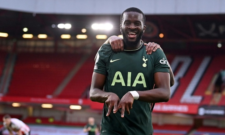 Tanguy Ndombele wants to play in LaLiga. AFP