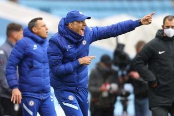 VÍDEO: Tuchel dio las gracias al Tottenham por hacerles el trabajo. AFP
