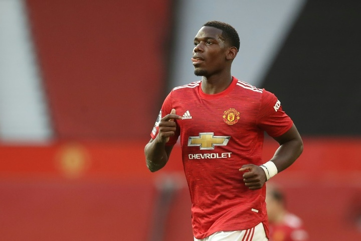 Paul Pogba wants big money in order to stay at Man Utd. AFP
