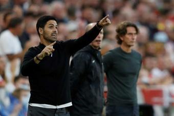 Arsenal manager Mikel Arteta. AFP