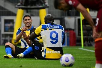 Lukaku left Inter for Chelsea on summer. AFP