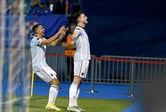 Declan Rice tiene un papel fundamental en el West Ham. AFP