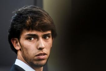 Joao Félix se ve jugando con Neymar. AFP
