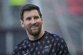 El Papa Francisco se llevará una camiseta de Messi. AFP