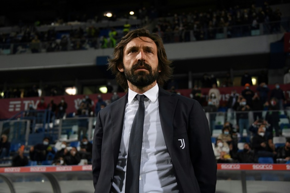 Pirlo is the main candidate for the Barca bench. AFP