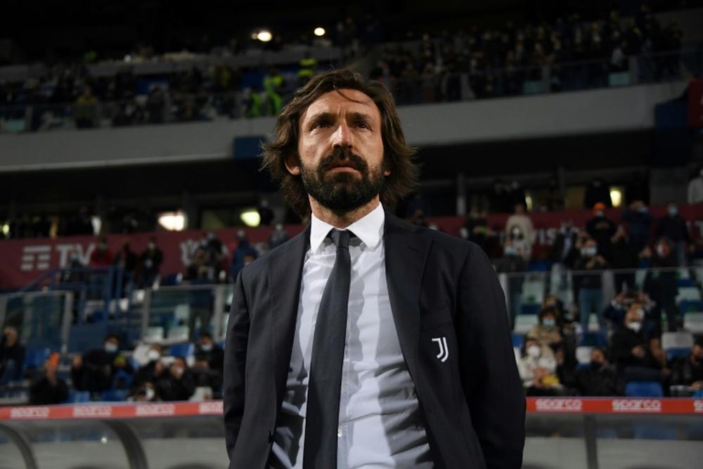 Pirlo, principal candidato para el banquillo del Barça. AFP