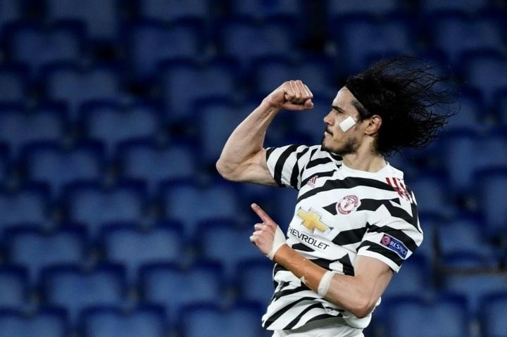 El United está en la final de la Europa League. AFP