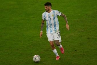 Rodrigo de Paul's last match was on 10th July. AFP
