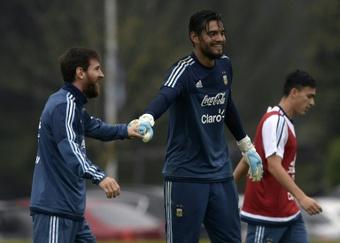 Sergio Romero pour remplacer Caballero à Chelsea ? AFP