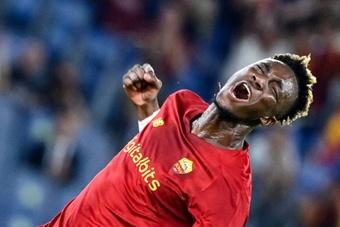 Abraham se está saliendo en el 'Calcio'. AFP