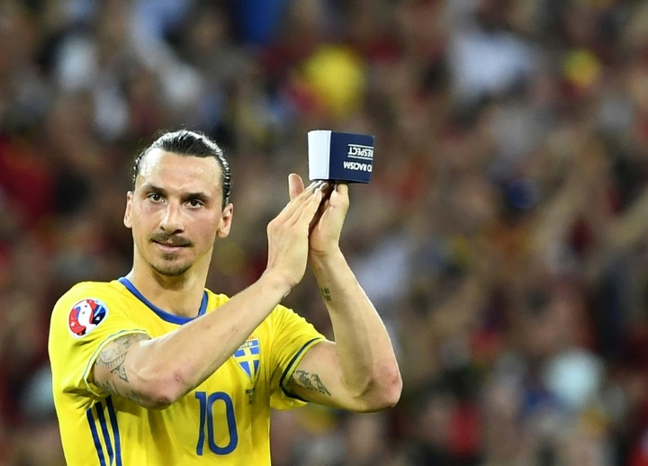 Ibrahimovic não estará nessa Data FIFA com a Suécia. AFP
