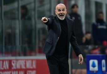 Milan travaille pour prolonger Stefano Pioli. AFP