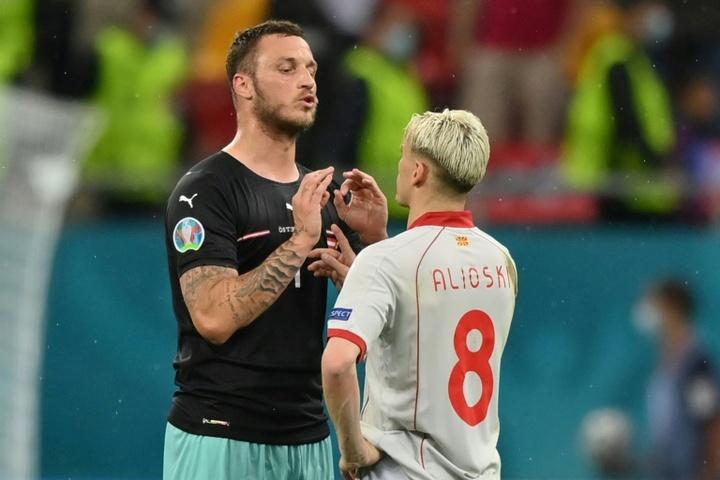 Por que jogador da Áustria foi suspenso na Euro? AFP