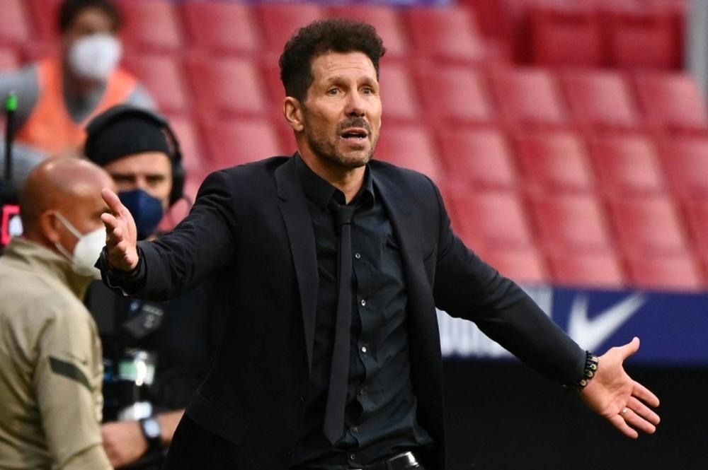 Javi Serrano solo quiere ganar títulos con el Atlético. AFP