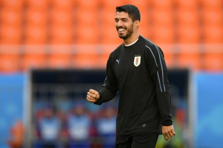 Luis Suarez, Valverde et Araújo appelés avec l'Uruguay. afp