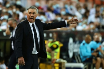 Le groupe du Real pour affronter Osasuna. AFP