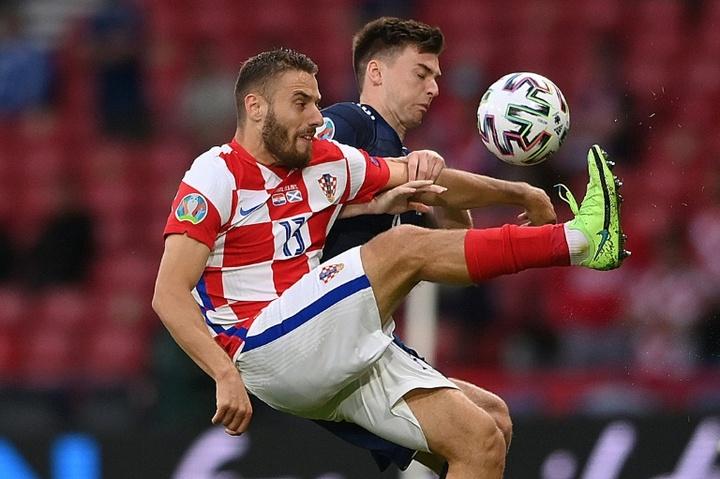 Croacia golea para seguir en lo más alto. AFP /Archivo
