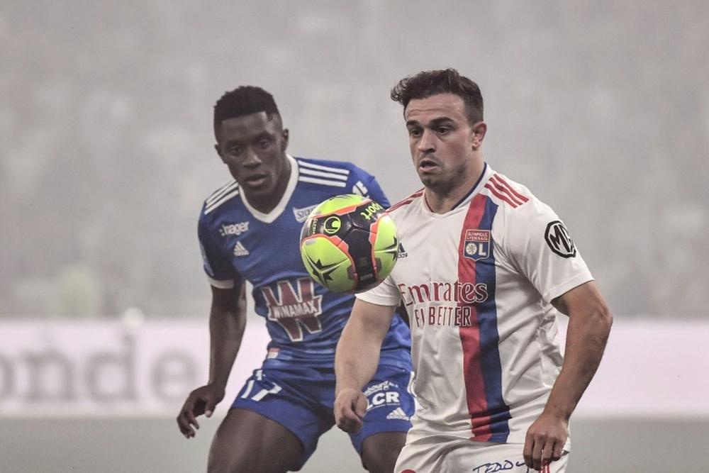 Shaqiri expresó que pudo haber jugado en España. AFP