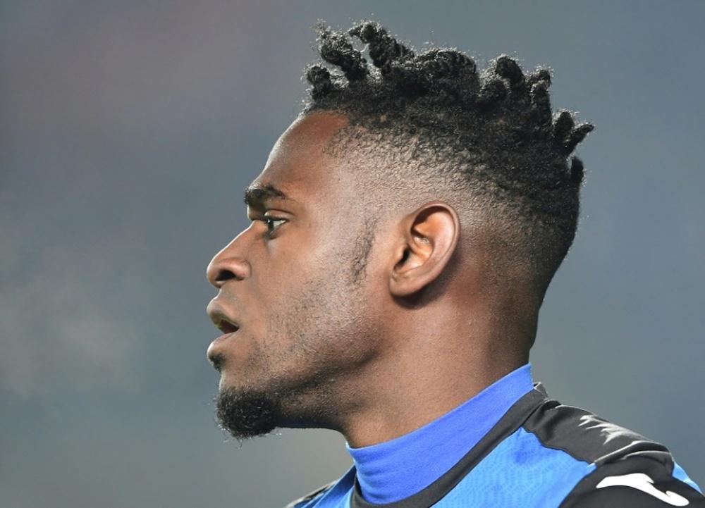 Atalanta veut jouer la Ligue des Champions avec Zapata. AFP