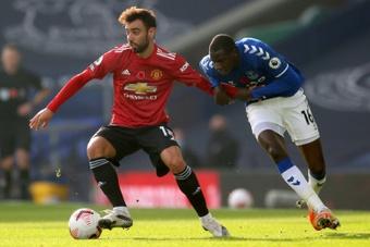 Escalações confirmadas de Manchester United e Everton. AFP