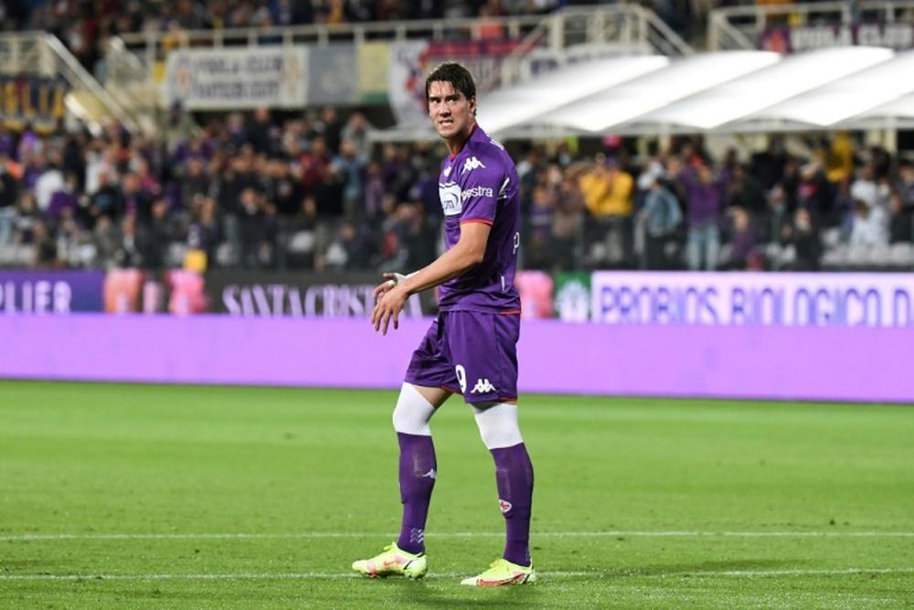 L'entraîneur de la Fiorentina prévient Vlahovic. afp