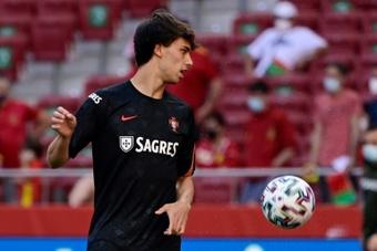 Joao Félix aimerait évoluer aux côtés de Neymar. afp