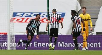 Varios jugadores no tienen ahora asegurado su puesto en el Newcastle. AFP