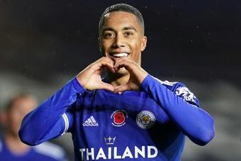 El Leicester se prepara para un futuro sin Tielemans. AFP