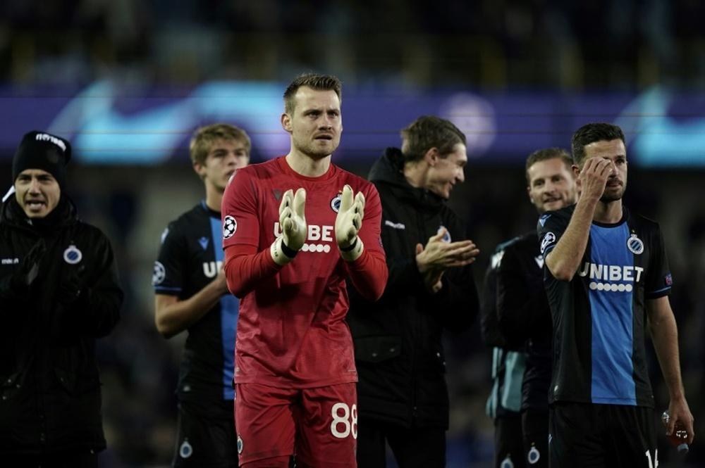 Mignolet falou da atuação da equipe do Brugge. AFP