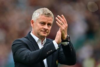 Manchester United boss Ole Gunnar Solskjaer is under pressure. AFP