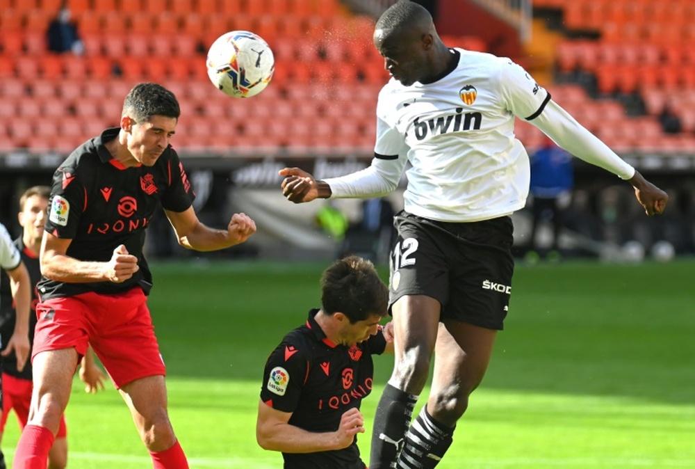 Diakhaby va jouer gros contre le Barça. AFP