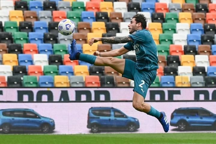 Italia liberó a Calabria por una lesión. AFP