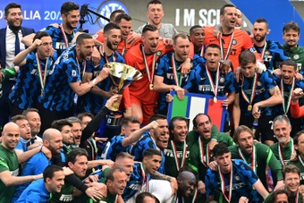 L'Inter Milan s'intéresse à un joyau de 17 ans. afp