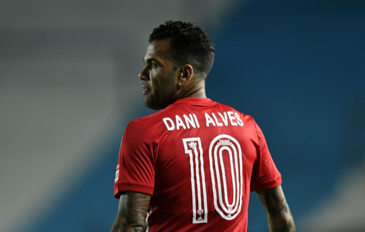 Dani Alves was close to joining City back in 2017. AFP
