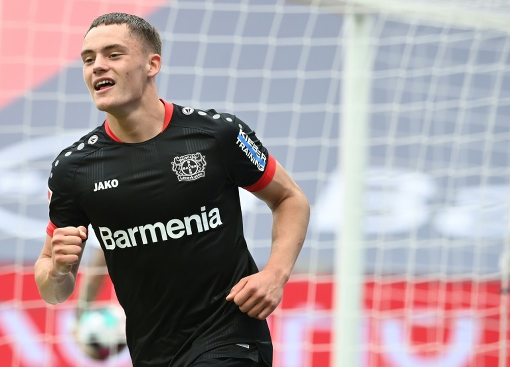 Florian Wirtz is wanted by Real Madrid. AFP