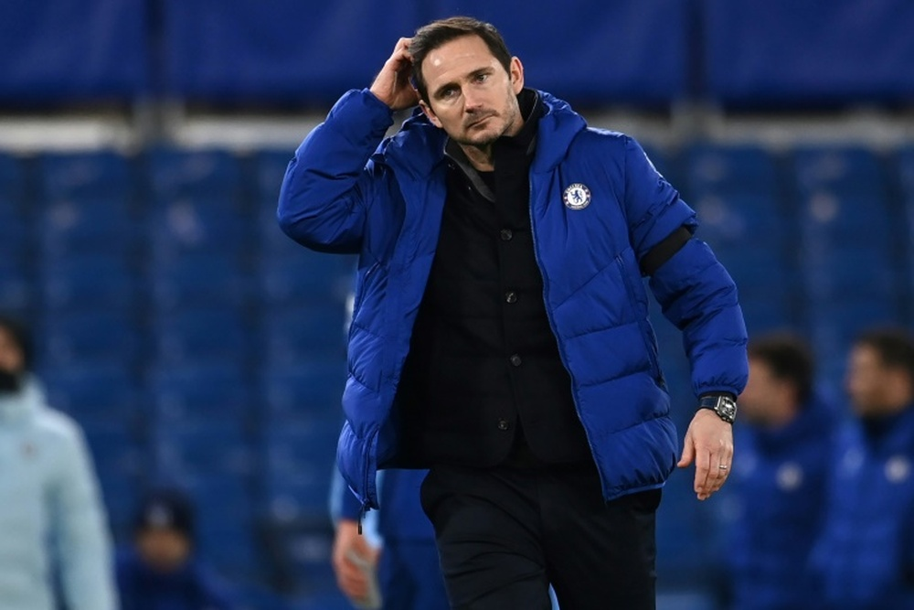 Lampard could be back in the Premier League. AFP