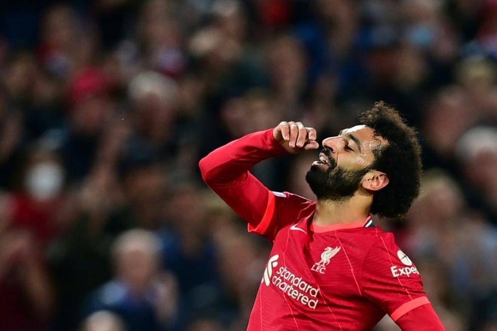 Le formazioni ufficiali di Liverpool-Manchester City. AFP