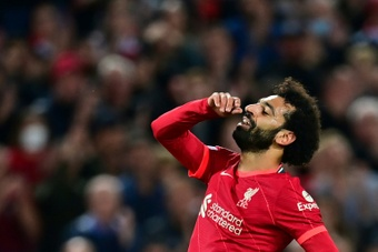 PSG thought about Salah this summer. AFP