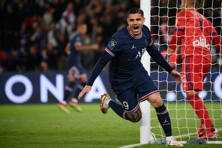 El Newcastle 'pasa' por el momento de Icardi y Ramsey. AFP