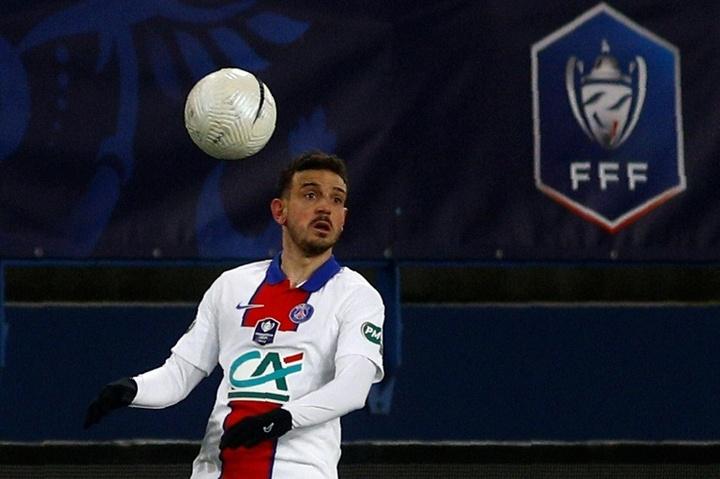 Le formazioni ufficiali di Rennes-PSG. AFP