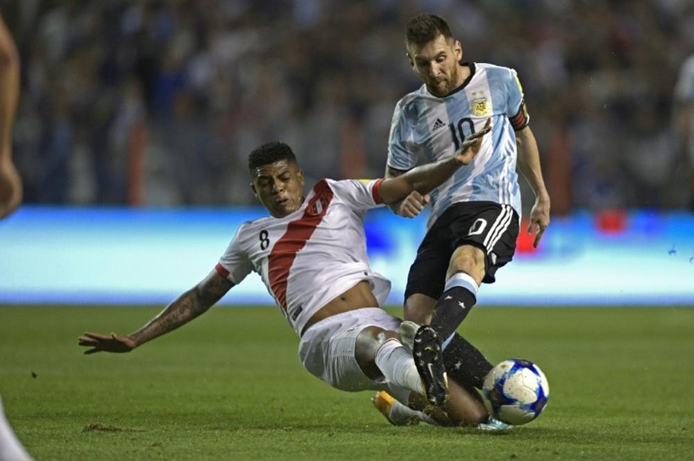 Messi tan solo le ha marcado un gol a Perú. AFP