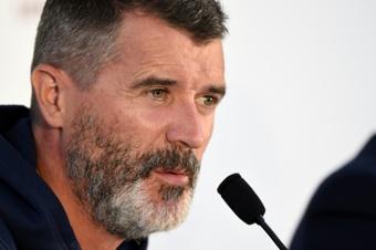 Roy Keane criticó el rendimiento del Tottenham en la derrota ante el Chelsea. AFP
