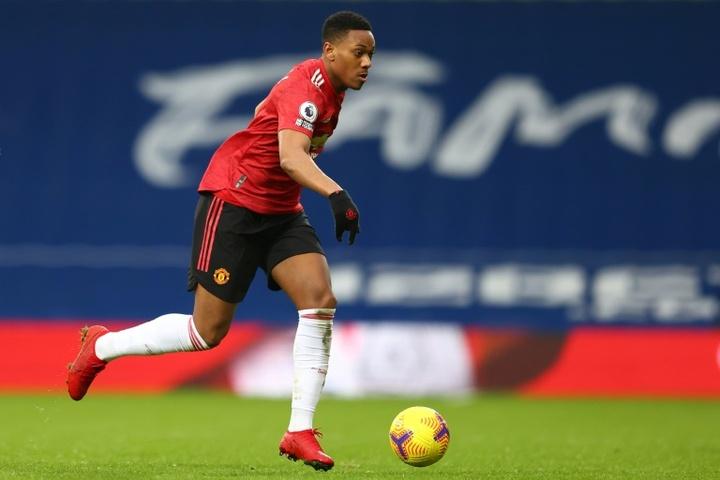 Tottenham veut Anthony Martial en janvier. afp