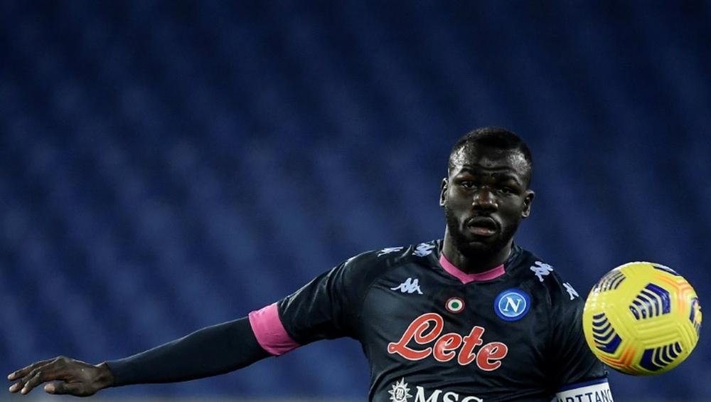 Koulibaly interesaba al Manchester United en verano. AFP